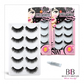 50 Pairs False Eyelashes