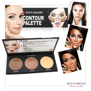 Contour Palette City Color Authentic & Luxury Black EyeLiner