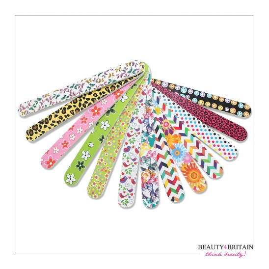 50 Nail Files 50 Different Designs