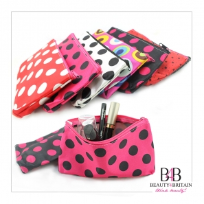 40 Make-up Cosmetic Bags Zip Top Closure
