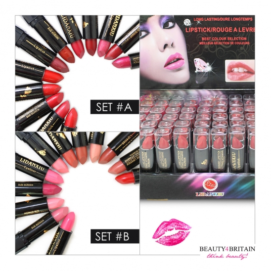 72 Lipstick Set with Vitamin A&E
