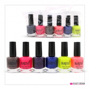 24 Nail Polish Quick Dry Set (24 Different Colours)