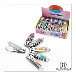 "12 Big Stainless Steel Nail Clippers ""Paradise"""
