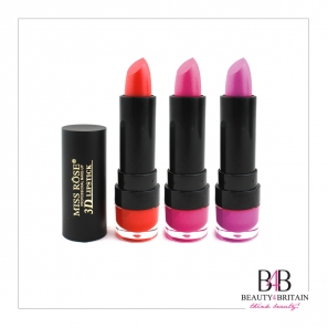 24 Lipstick Luxury 3D Miss Rose (Different Colours)