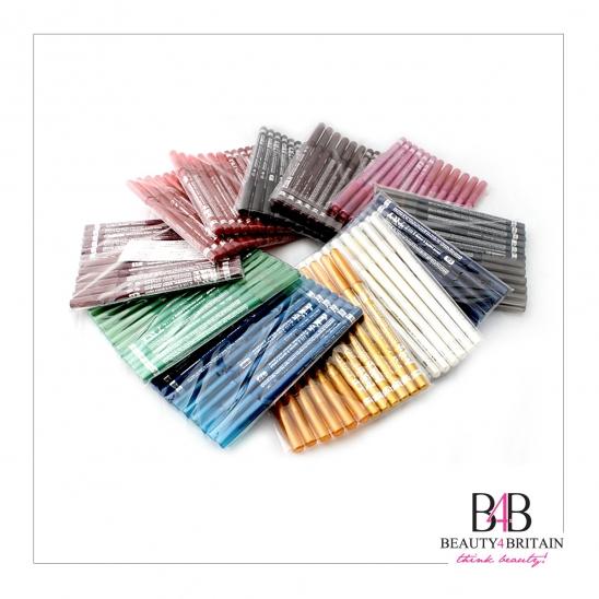 60 EyeLiner LipLiner Pencils Davis Different Colours