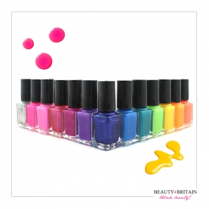 24 Nail Varnish Set with 24 Different Colours