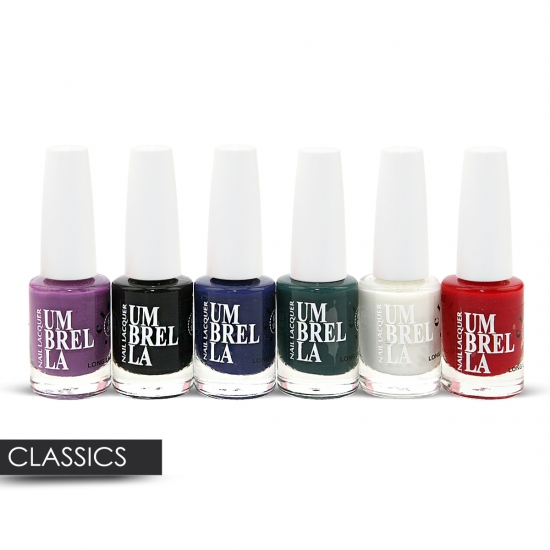6 Nail Polish 6 Different Colour Sets - Click Image to Close