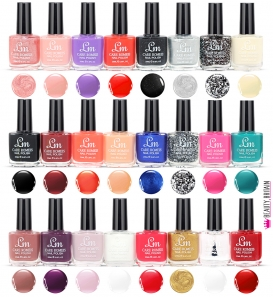 24 Nail Polish Set LM 20ml