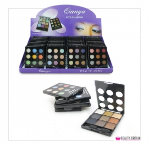 36 Eye Shadow Palette 9 Colours 6 Sets