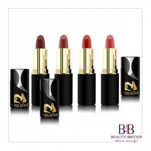 24 Lipstick Luxury Miss Rose 3D (Different Shades)