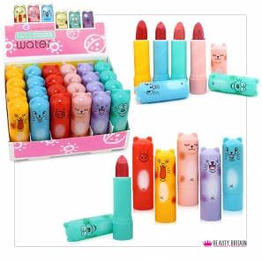 24 Cute Beasts Lipstick Set