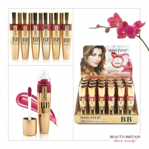"24 Luxury Lip Gloss Set BB ""Miss Five"""