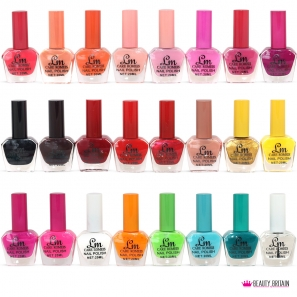 24 Nail Polish 24 Different Colours Set
