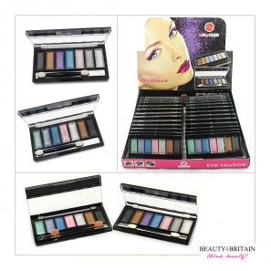 24 Eye Shadow Palettes 7 Different Colours 2 Sets