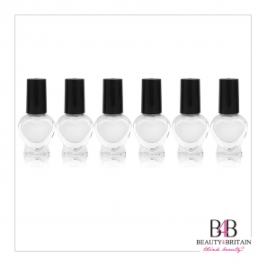 24 Bottles French Manicure Set (8 White & 8 Black & 8 Top Coat)