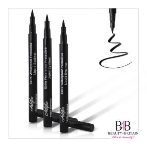 2 Luxury Smooth Liquid Black EyeLiner