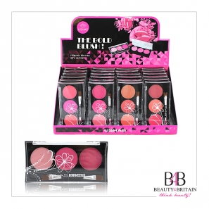 24 Triple Blush Blusher Set Ushas