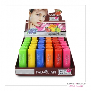 6 Lip Balm 6 Different Fruity Flavours 3.5g