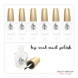 6 Top Coat Nail Polish LM