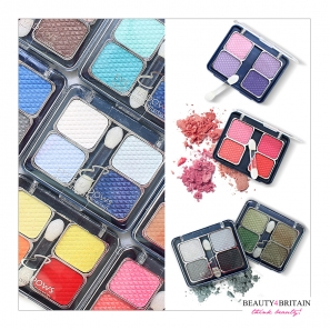 26 Eye Shadow Palettes With 4 Colours