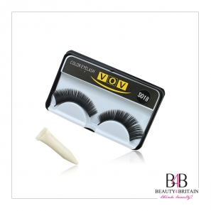 40 Pairs False Eyelashes with Glue
