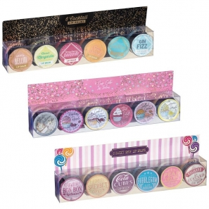 18 x Lip balms Sweet Shop 18 Different Scents 3 Packs