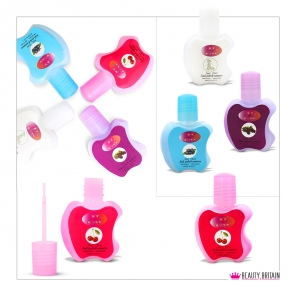 Nail Polish Remover Apple Shaped 4 Flavours