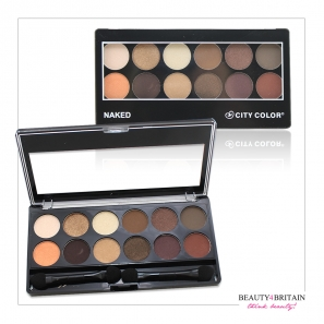 Naked & Smokey Eye Shadow