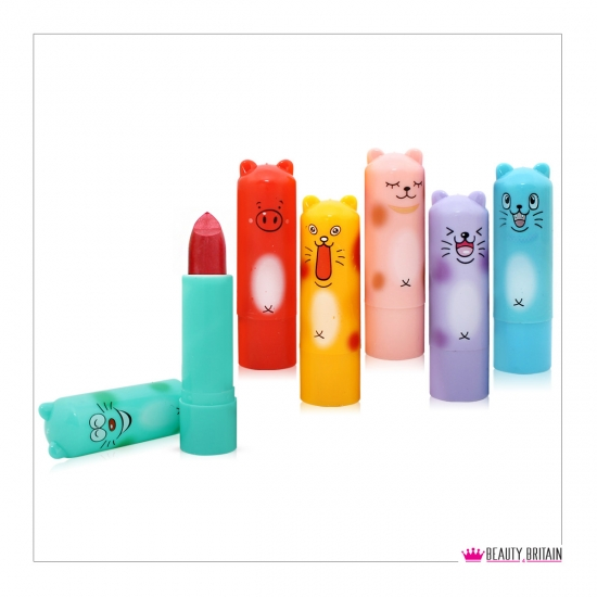 24 Cute Beasts Lipstick Set - Click Image to Close
