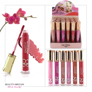 24 Lip Gloss Set Enzexi 6 Different Colours