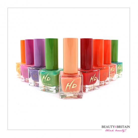 Neon Nail Polish Uk: 12 Neon Nail Polish Set (3 Vivid Colours) [NP90608]