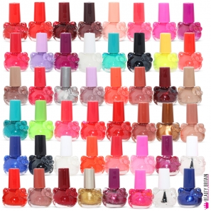 24 Nail Polish Set Cute Shaped