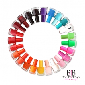 50 Nail Varnish Polish Assorted Colours