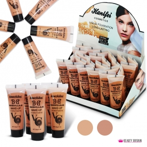24 Foundation Cream Set In Display Box