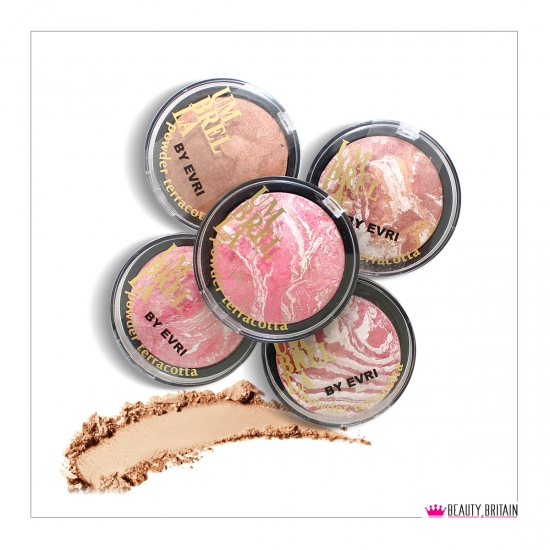 25 Terracotta Face Powder 5 Different Shades - Click Image to Close