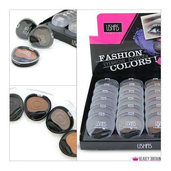 24 Eyebrow Powder Colour Set