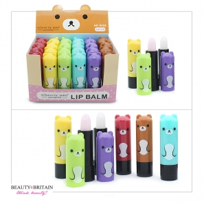 24 Lip Balm Set Funny Shapes