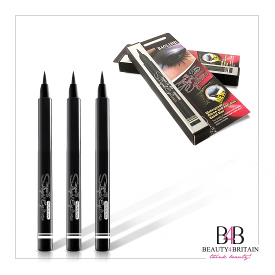 2 Luxury Smooth Liquid Black EyeLiner - Click Image to Close
