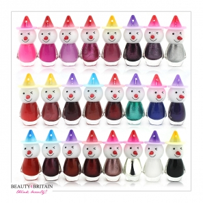 24 Nail Polish Clown 24 Colours
