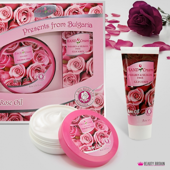 Bulgarian Rose Oil Gift Set - Click Image to Close