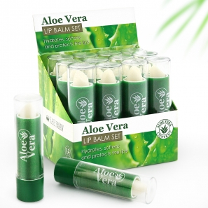 Lip Balm Aloe Vera Display Box