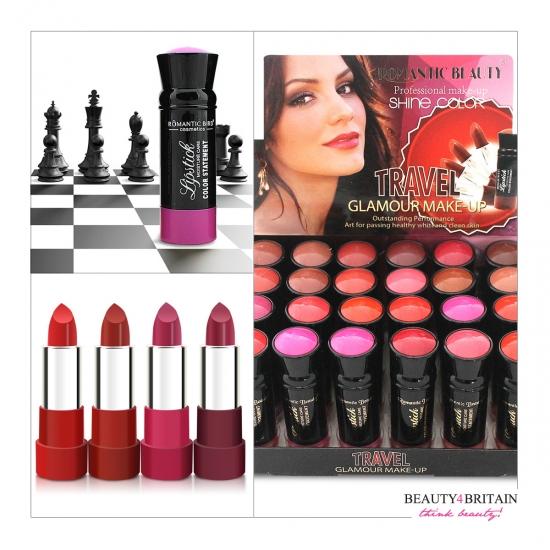 15e08999a72 24 Luxury Lipstick Set Romantic Bird [LS90567] - £17.99 | Wholesale ...
