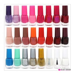 48 Nail Polish 2 Boxes Different Colours