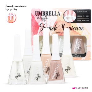 6 French Manicure Nail Polish Set