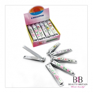 12 Big Hand Toe Nail Clipper Trimmer Flowers