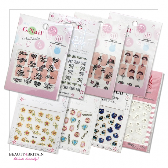 72 Sets Nail Art Sticker - Click Image to Close