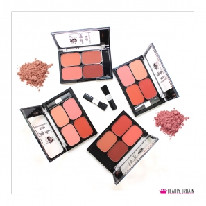 24 Blusher Palette 4 Colours / 4 Sets