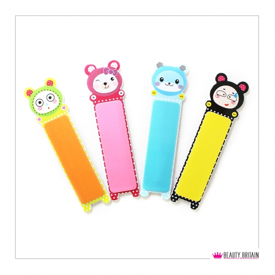 12 Cartoon Nail Files