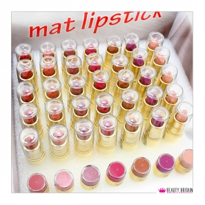 42 Mat Lipstick Set With Testers