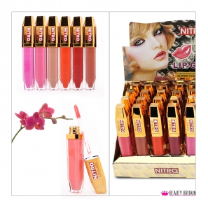 24 Lip Gloss Moisturiser 12 Colours
